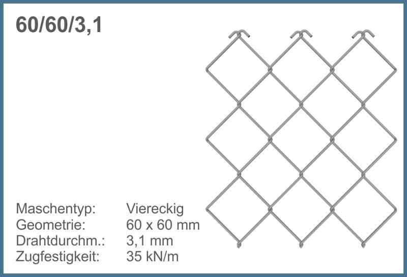 GMENU Rectangular 60-60-31